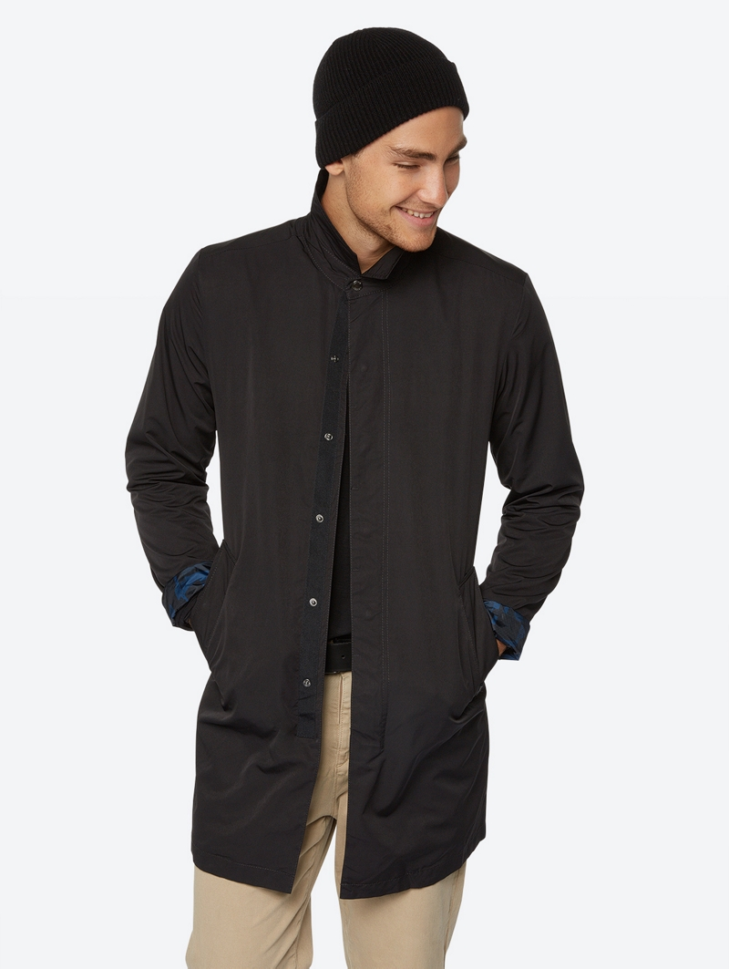 Bench Schwarz Mens Jacket Größe S