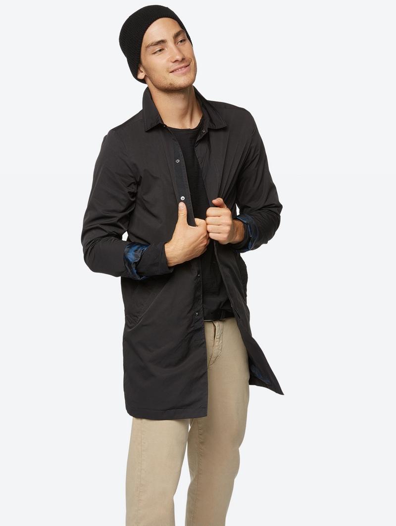 Bench Schwarz Mens Jacket Größe Xl