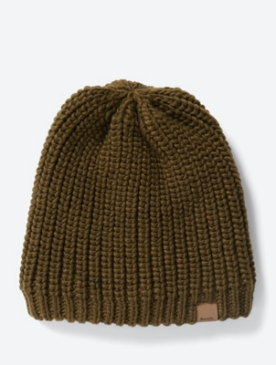 Chunky Knit Beanie with Fleece Lining