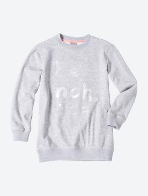 Sweatshirt with Sparkle Bench Logo