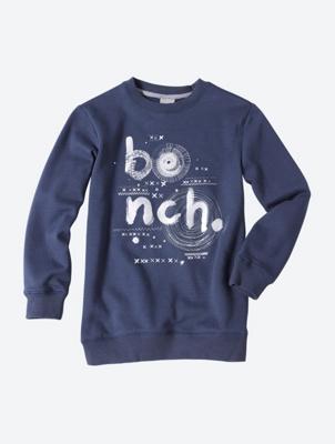 Sweatshirt mit glitzerndem Bench-Logo