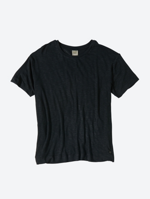 Soft Jersey T-Shirt with Side Slits