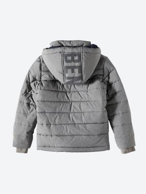 Warm gefütterte Jacke mit Bench-Badge