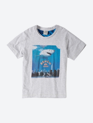Straight Cut Graphic T-Shirt
