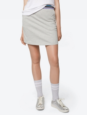 Jersey Skirt with Elasticated Waist