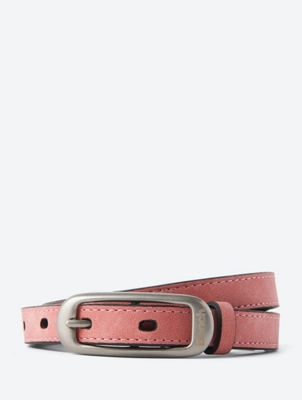 Slim Belt in a Leather Look
