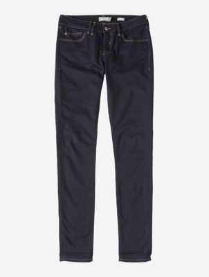 Skinny Jeans with Contrasting Stitching