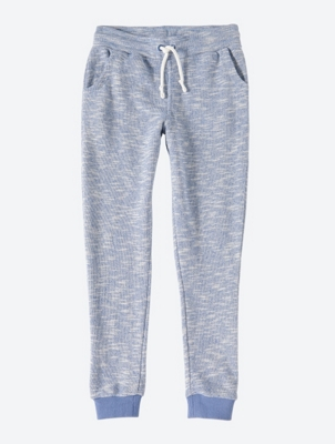 Melange Sweatpants with Drawcord Waistband