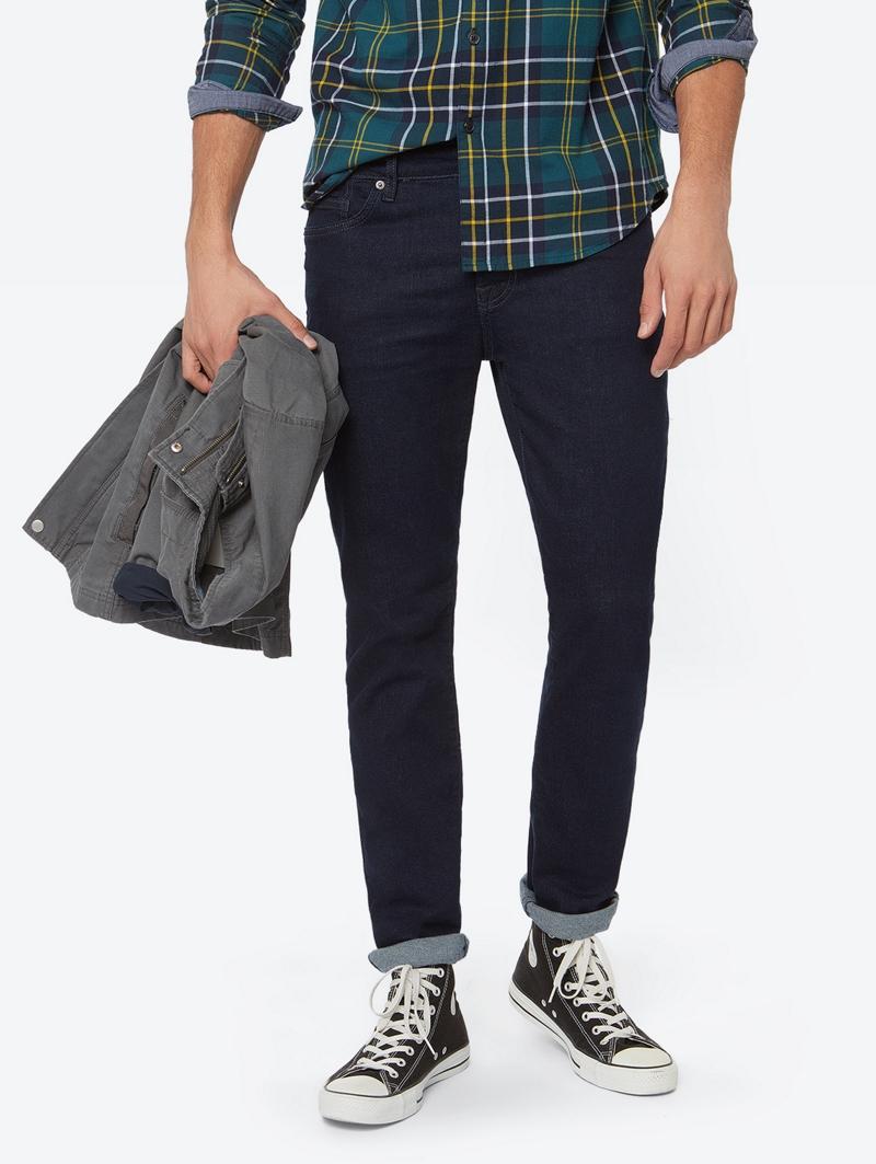 Bench Blau Mens Jeans Größe 31w 34l