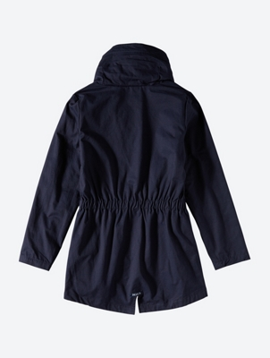 Parka with Standing Collar