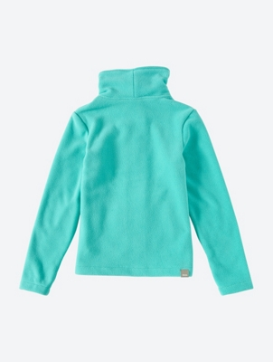 Plain Fleece Jacket with Standing Collar