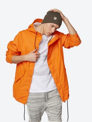 Lightweight Parka Stationary with Hood