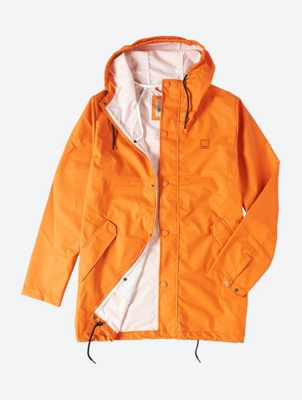 Lightweight Parka Stationary with Coating