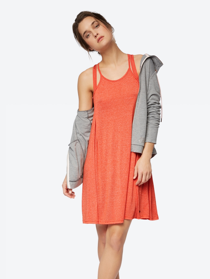 Bench Orange Ladies Dress Größe S