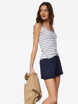 Striped Top with Racerback
