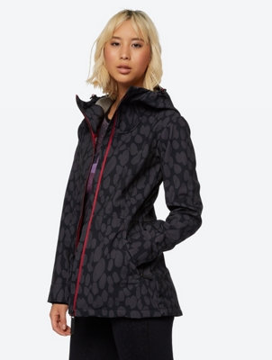 Patterned Water Repellent Softshell Jacket