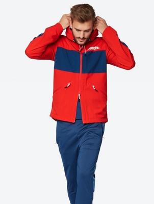 Wasserabweisende Jacke im Casual-Look