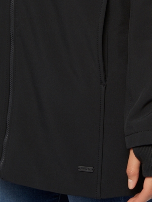 Water Repellent Jacket with Contrast Lining