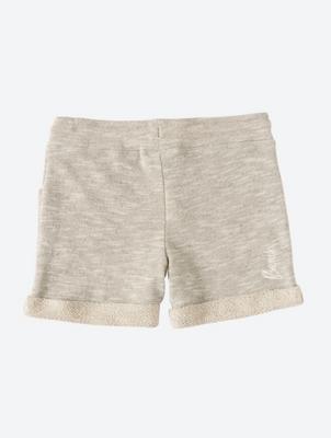 Jersey SweatShorts with Mottled Yarn Texture