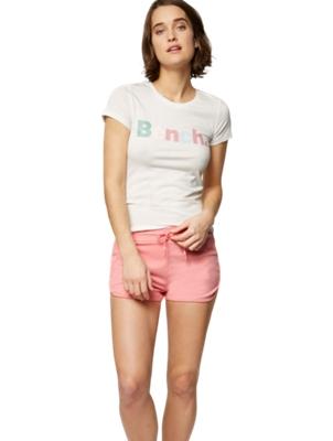 Sweat Shorts with Mesh Insert
