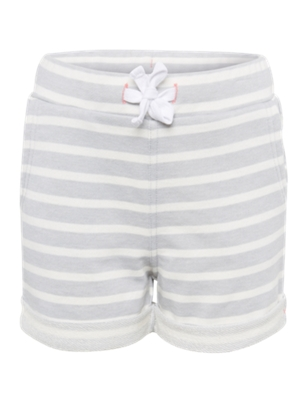 Shorts with Striped Pattern