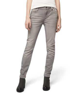 Skinny Jeans mit Crinkles