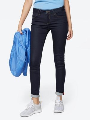 Skinny Jeans mit kontrastigen Nähten