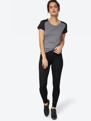 Solid Colour Skinny Fit Leggings