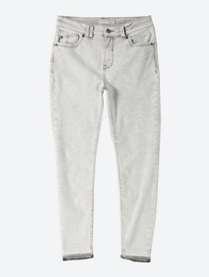 Skinny-Jeans mit gecroppter Länge