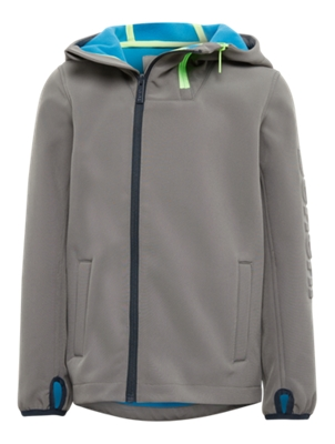 Softshell Jacket with Double Zipper