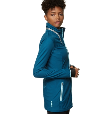 Softshell Jacket with Packable Hood