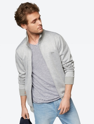 Sporty Cardigan with Thumbholes