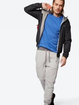 Cuffed Sweatpants Inscription with pockets