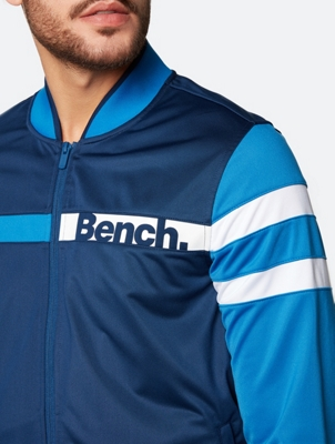 Sporty Sweat Jacket with Bench Logo