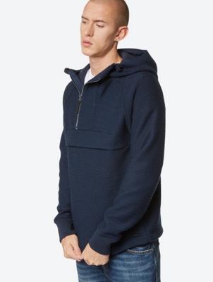 Structured Jacket in a Windbreaker Look
