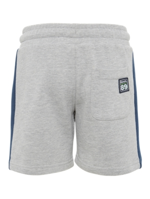 Sweat Shorts with Bench Print on the Leg