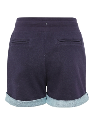 Sweat Shorts with fixed Turn-Ups