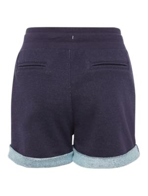 Sweat-Shorts mit fixierten Turn-Ups