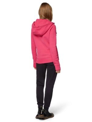 Sweat Jacket with Drawstring Hood