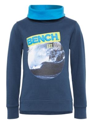 Sweatshirt mit Surfer-Motiv vorne