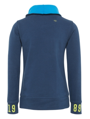 Sweatshirt with Surfer Motif on the Front