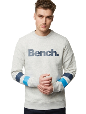 Sweatshirt with Colourful Stripes
