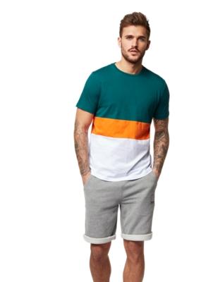 T-Shirt im Color-Blocking-Design