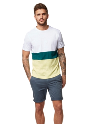 T-Shirt im Color-Blocking-Design