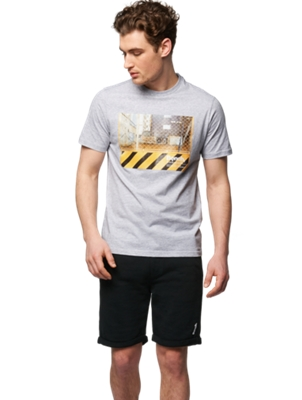 T-Shirt with Photo Print on the Front
