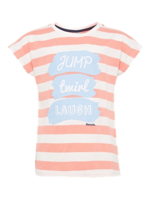 T-Shirt with Striped Pattern