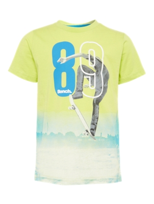 T-Shirt with Cool Skater Print on the Front