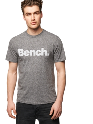 T-Shirt with Large Bench Print on the Front