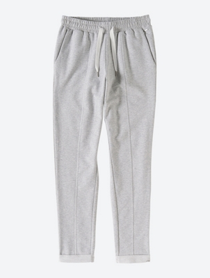 Weiche Sweatpants in Melange-Optik