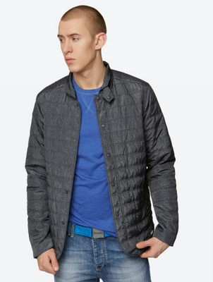Light Quilted Jacket Task with pockets